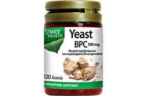 Power Health Yeast BPC 500mg 120caps